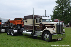 Kenworth W900A Sleeper Tractor (Trucks, Buses, & Trains by granitefan713) Tags: tractor kenworth tractortrailer bigrig w900 atca w900a trucktractor kenworthtruck kenworthw900a sleepertractor atcamacungie atcanationalmeet macungie2015