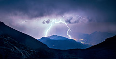 Lightning (L.Mikonranta) Tags: alps switzerland lightning thunder lesdiablerets