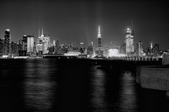 New York City (mudpig) Tags: nyc newyorkcity bw white ny newyork black reflection night skyscraper river photography pier glow cityscape manhattan midtown timessquare esb license conventioncenter empirestatebuilding chryslerbuilding hdr hoboken horizonte gettyimages nuevayork weehawken orizzonte  conventionhall 2015 jacobjavitz royaltyfree onepennplaza  cidadedenovayork mudpig nytimesbuilding stevekelley  hudsonyards   linhadohorizonte lignedhorizon ufukizgisi      thnhphnewyork   kakilangit   lavilledenewyork stevenkelley chntri  sylwetkanatlenieba  licensenow    latarlangit