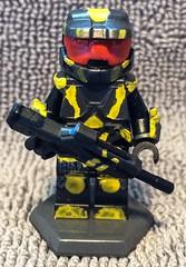 Agent Washington (Mike-1911) Tags: lego halo videogames redvsblue roosterteeth brickarms brickforge brickwarriors