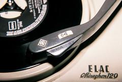 Mono - Stereo # Elac Miraphon 120 # 020 # Nikon FM2 DM Paradies400 - 2013 (irisisopen f/8 >3Mio) Tags: 2 color colour analog nikon technik turntable single 400 platte fm farbe dm plattenspieler negativ paradies negativfilm farbnegativ irisisopen
