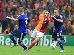 Burak Ylmaz (l3o_) Tags: galatasaray burak ylmaz football futbol gol goal footballer futbolcu sar krmz red yellow galasozlukorg