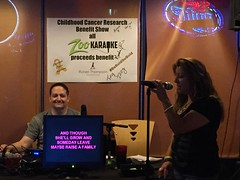 "Zoo Karaoke Childhood Cancer Research Show to benefit The Ronan Thompson Foundation - September 30, 2015 • <a style=""font-size:0.8em;"" href=""http://www.flickr.com/photos/131449174@N04/21728546189/"" target=""_blank"">View on Flickr</a>"