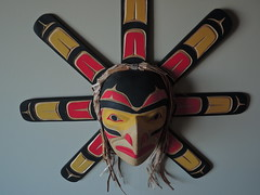 image (Klaus S. Henning) Tags: sun west coast mask native arts sonne emil haida canadiana kanada maske thibert 4continents