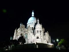 Sacré-Cœur    Je suis Paris (evisdotter) Tags: paris france church night nightshot montmartre dome kyrka sacrécœur basiliquedusacrécœur sooc