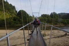 Bridge (4seasonbackpacking) Tags: teararoatrail teararoa tatrail ta nobo winter tramping backpacking hiking walking newzealand southisland nz 4seasonbackpacking fourseasonbackpacking toots achara hobo hobos bridge westcoast heaphytrack heaphytrails heaphy