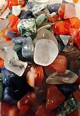 Agate and Quartz (Stones-59) Tags: shiny rocks stones polish polished lapidary tumbler smokeyquartz bluequartz polishedrocks clearquartz greenaventurine rocktumbler whitequartz carnelianagate kylesecretan bahiaagate greenteaagate