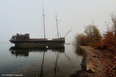 pirateship in fog (Rex Montalban Photography) Tags: fog niagara hdr pirateship rexmontalbanphotography
