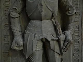 ca. 1475 - 'Balthasar von Zindel (+1496)', Franziskanerkirche, Würzburg, Bayern, Germany