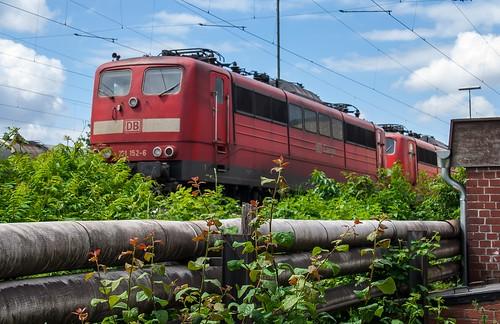 21.05.2006 Oberhausen Osterfeld. DB 151 152