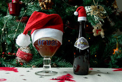 Merry Christmas / Joyeux Nol (Michal Raty) Tags: world voyage christmas xmas trip travel beer natal landscape navidad bottle belgium pentax magic cerveza creative ale christmaslights traveller explore wishes cheers bier ameliepoulain nol paysage merrychristmas natale brew birra flasche trappist sapin botella bire decembre bouteille belgianbeer pivo routard globetrotter aroundtheworld orval trappiste beerphotography tourdumonde joyeuxnoel trappistes trappistenbier k10d trappistbeer untappd orvalaroundtheworld orvalfaitsontourdumonde