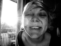 Morning Sunshine (Teet Liiv) Tags: morning blackandwhite sun coffee sleepyhead 2015 supersmile rx100