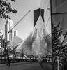 WTC Transit Hub in Reflection on 9.11 Museum Buidling, NYC DSC05345-Edit (nianci pan) Tags: city nyc urban bw newyork reflection tree glass museum landscape mirror cityscape manhattan sony trainstation transportation wtc pan 建筑 博物馆 火车站 纽约 曼哈顿 sonyalphadslr nianci sonyphotographing 911museum 世贸中心大楼