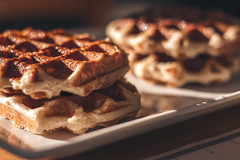 Sunday Afternoon (Kevin STRAGLIATI) Tags: cooking waffles cook dessert light