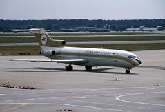 5A-DIG (wiltshirespotter) Tags: boeing 727 727200 libyanarab frankfurt fra