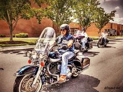 Harley Davidson motorcycle (delmarvausa) Tags: southerndelawaware georgetowndelaware sussexcounty delaware sussexde delmarva travelingwall wallthatheals vietnamveterans memorial deltech georgetownde sussexcountyde georgetown motorcycle motorcycleescort motorcycleriders bikers harley harleydavidson