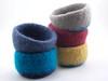 Felted wool bowls (Ruth & Hazel) Tags: felt felted wool bowl bowls fulled ruthhazel ruthandhazel handmade