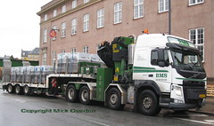 Volvo FH AR66012 @ Copenhagens last Post owned Post Office ! (sms88aec) Tags: volvo fh ar66012 copenhagens last post owned office