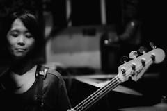 Bass Player (jsvamm) Tags: ifttt 500px lady bass music guitar rock band beauty beautiful female black white live