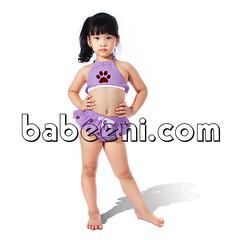Cute violet monogram girl swimwear (babeeniclothing) Tags: girl swimwear swimsuit clothing fashion cute love beautiful portrait nice beach summer