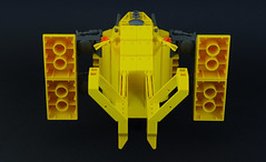 Renault Hirondelle (05) (F@bz) Tags: starfighter spaceship lego sf space moc scifi renault