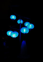 Montral - Jardin Botanique (benoithamon1) Tags: montreal night nuit lampion lantern