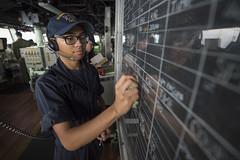 161012-N-JS726-018 (CTF 76) Tags: navy marines amphibiousassault southchinasea bonhommerichard expeditionarystrikegroup underway deployment military
