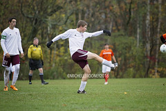 IMG_3795eFB (Kiwibrit - *Michelle*) Tags: soccer varsity boys high school game team monmouth mustangs nya north yarmouth academy maine 102916