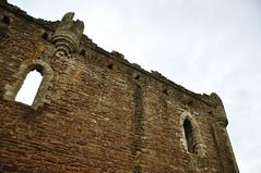 DSC_6389 [ps] - Double Toil & Bubble (Anyhoo) Tags: anyhoo photobyanyhoo dounecastle castle doune scotland uk stone stonework fortress wall fortification aperture opening window arch archedwindow corbel