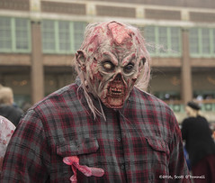 Flannel zombie (scottnj) Tags: zombie zombiewalk asburypark 2016zombiewalk scottnj halloween scary makeup zombiemakeup scottodonnellphotography zombiephotos zombiewalkasburypark ninthannualzombiewalk 9thannualzombiewalk