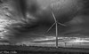 Afternoon in Iowa (DonMiller_ToGo) Tags: hdr 5xp landscape blackandwhitephotography hdrphotography windturbine blackandwhite blackwhite sky iowa bw d810 outdoors clouds