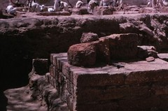 Temple at Meroe (nubianimage) Tags: nia nubia temple archaeologists