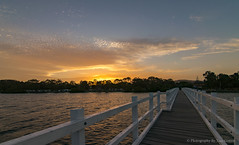 Stuarts Point,NSW,Australia. (Photography By Tara Gowen) Tags: bridge sunset sun water river nsw australia nikon tokina1116mm taragowen photographybytaragowen newsouthwales stuartspoint