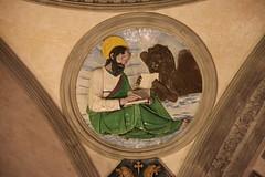 San Marco attr. a Filippo Brunelleschi, 1445 ca. (Matteo Bimonte) Tags: tondo arte art cappellapazzi pazzi filippobrunelleschi brunelleschi firenze florence rinascimento evangelista