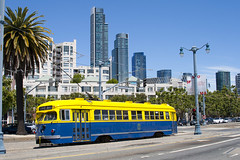 Embarcadero PCC (II) (imartin92) Tags: sanfrancisco california municipal railway muni trolley tram pcc embarcadero