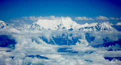 Above the clouds (a19oct) Tags: himalaya everest blue sky snow landscape mountains outdoors nepal