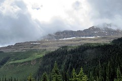 Low Clouds (Patricia Henschen) Tags: yoho nationalpark canada field mountains waterfall rocky northern rockies takakkaw falls park parks parcs britishcolumbia mountain glacier glaciers clouds boreal forest daly waputik icefield