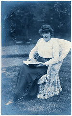 Kitty in 1915 (pepandtim) Tags: postcard old early nostalgia nostalgic kitty 1915 ink sis 07091915 imperial german army airship raided england bombed millwall deptford greenwich woolwich crash landed base engine failure greenhouses cheshunt incendiary shop fenchurch street london 28kty23