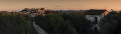 Loreto Aprutino - Panorama all'Alba (Andrea di Florio (Thanks for 6,000,000 views)) Tags: abruzzo alba andreadiflorio loreto aprutino nikon d600 70200 2470 28 belltower borgo calascio campanile castel castello chiesa clouds gransassolandscape montagna mountain nubi nuvole pace paesaggio primavera serenit solitude sunrise notte night