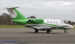 N55CJ CitationJet Think Cell (Anhedral) Tags: n55cj cessna 525 citationjet bizjet corporatejet westonairport thinkcell