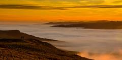 Upside Down (Peter Quinn1) Tags: stanageedge peakdistrict temperatureinversion derwentvalley derbyshire mist