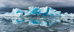 Jkulsrln - Glacial Lagoon (Daniel Regner) Tags: blue iceland travel tourism trip road ring daniel regner digital color summer july 2016 awesome beautiful vacation glacier jokulsarion lagoon icebergs iceberg float water cool winter wintry cold ice icy waters east reflection sky europe