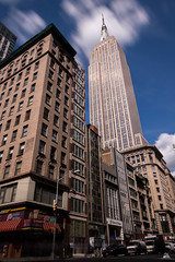 Empire State Building, Manhattan, New York (Domi Art Photography) Tags: photography canon pauselongue longexposure architecture icone fifthavenue esb empirestatebuilding building sunrise sunset skyline nyc ny usa manhattan newyork