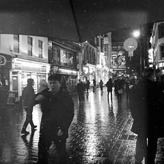 London Tales   The big Smoke (Nassia Kapa) Tags: londontales chinatown nassiakapa smoke cigarette london underanumbrella umrella rain