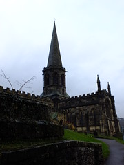 All Saints Church, Bakewell (failing_angel) Tags: 020316 derbyshire bakewell allsaintschurch