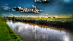 Canal in spring (joshdgeorge7) Tags: canal spring cheshire waterways sun walks