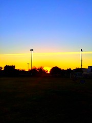 Sunset - Downey, CA (justinarcy) Tags: socal downey park sunset