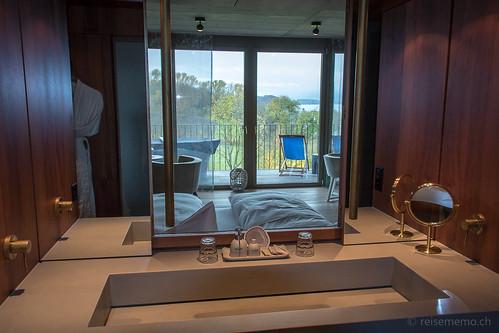 Badezimmer in der Junior-Suite