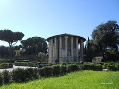 Temple of Hercules Invictus (Paula Luckhurst) Tags: templeofherculesinvictus rome italy ancientrome romaantica romanempire antiquity europe