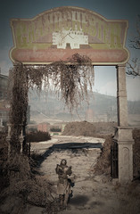 Grandchester (Thaalin) Tags: mansion fallout abandoned new vegas apocalypse old vintage